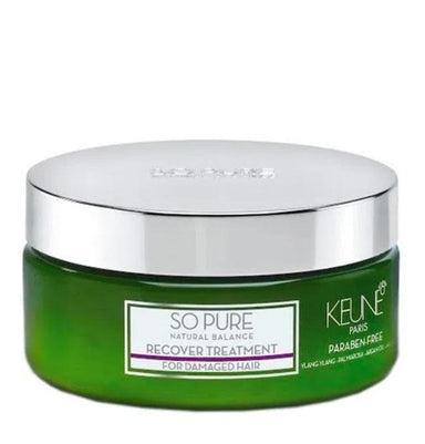 Keune Hair Mask Damaged Hair So Pure Recover Quinoa Argan Coconut Oils Mask 200ml - Keune