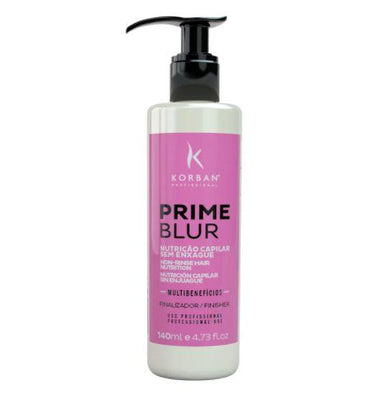 Korban Brazilian Keratin Treatment Prime Blur Rinse-Free Nutrition 21 Benefits Treatment Finisher 140ml - Korban