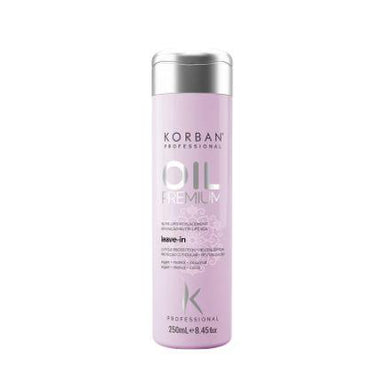 Korban Home Care Oil Premium Antioxidant Hydration Repair Shine Leave In Finisher 250ml - Korban