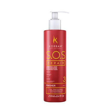 Korban Home Care SOS Repair Moisturizing Damaged Dry Hair Hydration Finisher 250ml - Korban