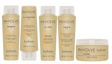 Kostume Brazilian Keratin Treatment In Volve Semi di Lino Home Care Nutrition Repair Treatment 5 Products - Kostume