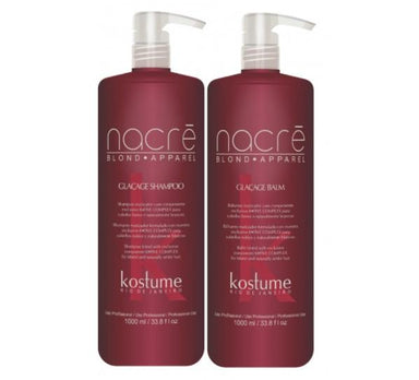 Kostume Brazilian Keratin Treatment Nacre Blond Apparel Tinting Five Complex Keratin Treatment Kit 2x1L - Kostume