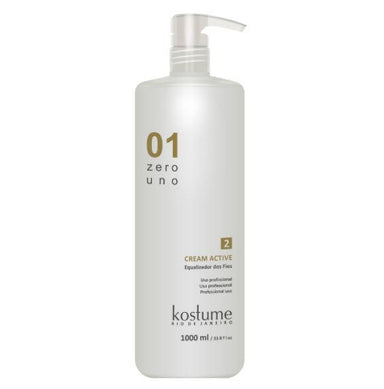 Kostume Brazilian Keratin Treatment Zero Uno Formol Free Progressive Wire Equalizer Cream Active 1L - Kostume