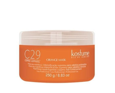 Kostume Hair Mask C29 Copper Apparel Orange Supreme Intensifying Nourishing Mask 250g - Kostume