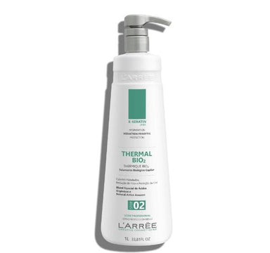 L'ARRËE Brazilian Keratin Treatment Biological Capillary Sealing Natural Active Thermal Bio 2 Thermique 1L - L'arree
