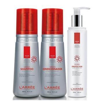 L'ARRËE Brazilian Keratin Treatment Verano Kit 3 Products -