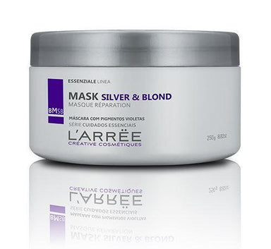 L'ARRËE Hair Mask Essenziale Linea Silver & Blond Toning Masque Réparation Mask 250g - L'ARRËE