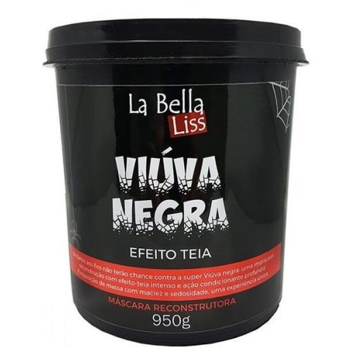 La Bella Liss Hair Mask Professional Reconstruction Black Widow Cob Effect Mask 950g - La Bella Liss