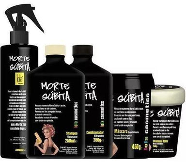 Lola Cosmetics Brazilian Keratin Treatment Morte Subita Kit 5 Products - Lola Cosmetics