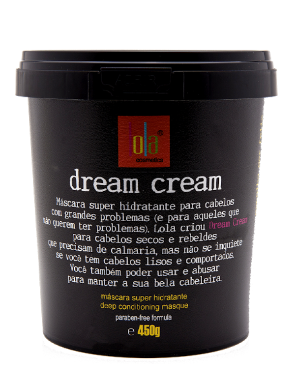 Lola Cosmetics Hair Mask Dream Cream Super Moisturizing Mask 450g - Lola Cosmetics