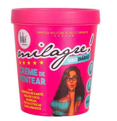 "Lola Cosmetics Hair Mask Milagre ""Miracle"" Cream Mask 450g - Lola Cosmetics"