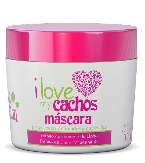 Love Potion Hair Mask I Love My Cachos Mask B5 Vitamin Flax Seed Chia Extract Mask 300g - Love Potion