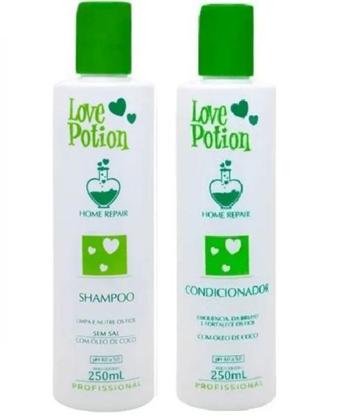 Love Potion Home Care Home Care Hair Maintenance Coconut Shampoo and Conditioner 2x250ml - Love Potion