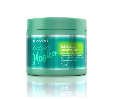 Lowell Hair Mask Coconut Avocado Karite Vegetable Blend Magic Curls Humectant Mask 450g - Lowell