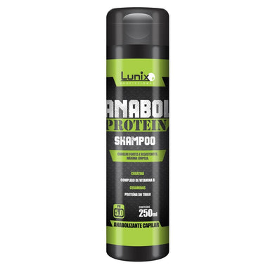 Lunix Home Care Anabol Protein Force Mass Replacement Creatine Ceramides Shampoo 250g - Lunix