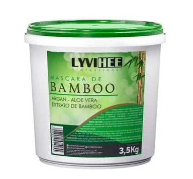 Lyvihee Hair Mask Bamboo Nourishng Nutritive Almond Argan Reconstruction Mask 3,5kg - Lyvihee