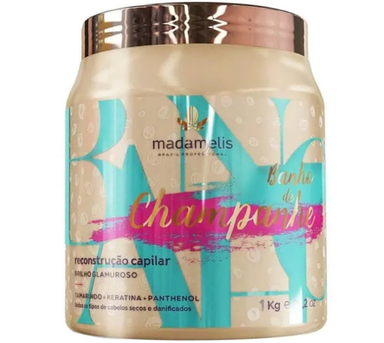 Madame lis Hair Mask Champagne Bath Glamorous Brightness Hair Mask 1kg - Madame Liss