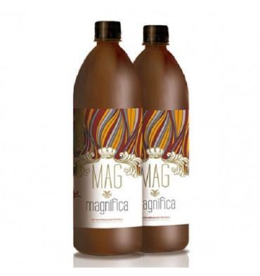 MAGMAGNIFICA Brazilian Keratin Treatment Biopolimerization Protein Hair Treatment 2x500ml Kit - MAG Magnifica