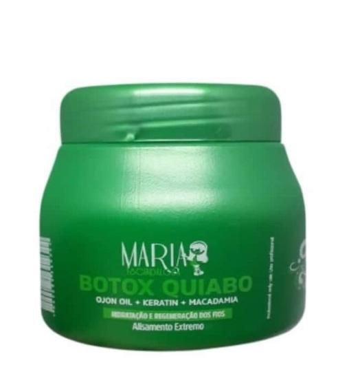 Extreme Smooth Pro Repair Okra Reduction Botox Mask 250g - Maria Escandalosa