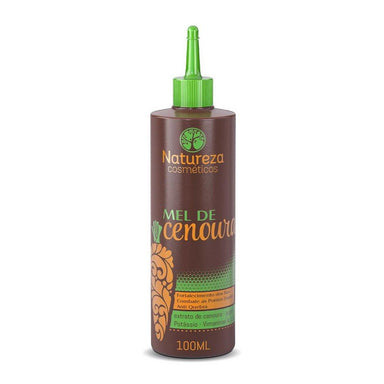 Natureza Cosmetics Brazilian Keratin Treatment Carrot Honey Anti Fall Hair Strenghtening Antioxidant 100ml - Natureza Cosmetics