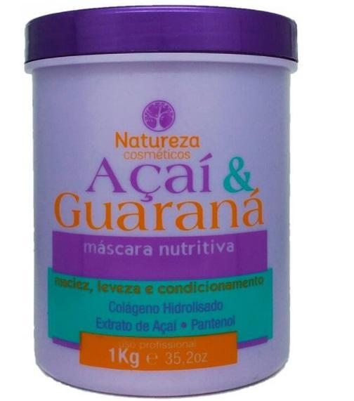 Acai and Guarana Softness Lightness Conditioning Nourishing Mask 1Kg - Natureza