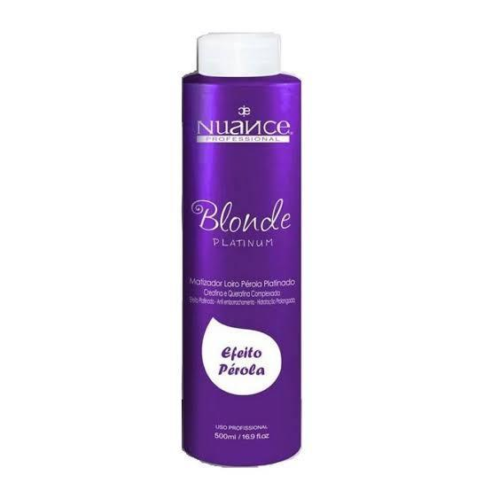 Nuance Hair Mask Blond Platinum Hair Mask Pearl Effect 300ml - Nuance