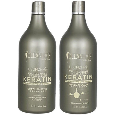 Ocean Hair Brazilian Keratin Treatment Ocean Hair Lisonday The One Keratin Progressive Liss Effect Brazil Amazon