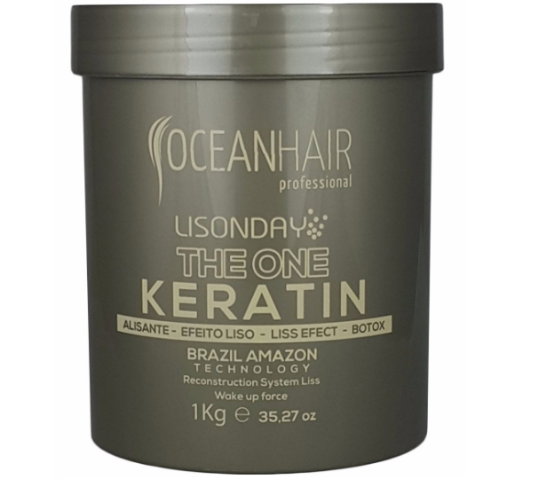 Ocean Hair Hair Mask Btox The One Keratin Lisonday Reconstruction 1kg - Ocean Hair