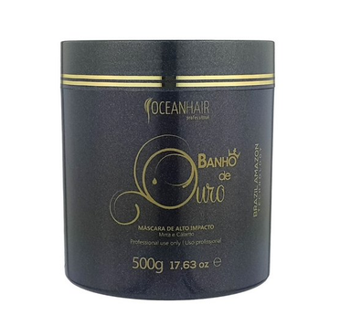 Ocean Hair Hair Mask Gold-Plated High Impact Mask 500g - Ocean Hair