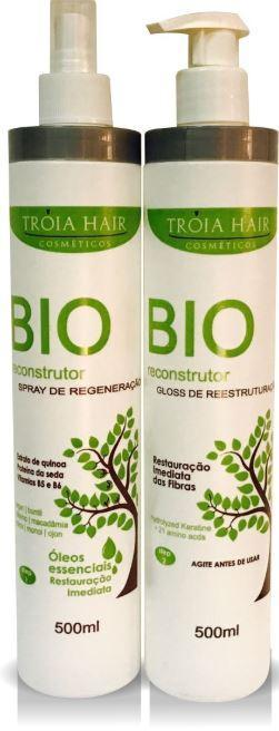 Other Brands Brazilian Keratin Treatment Bio Reconstructor Immediate Help Regeneration Hair Treatment 2x1L - Troia Hair