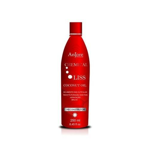 Chemical Liss Coconut Oil Cuticles Sealing Hair Reconstructor 250ml - Anjore