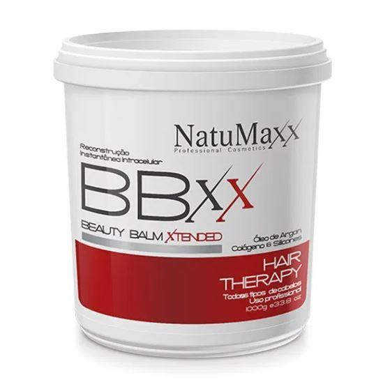Other Brazilian Keratin Treatment Reconstruction Therapy Beauty Balm Xtended Red Hair Smooth BBXX 1Kg - Natumaxx