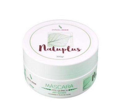 Other Hair Mask Natuplus Post Chemistry Olive Collagen Hydration Anti Break Mask 300g - Prolisse