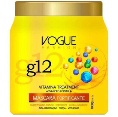 Other Hair Mask Vitamins Treatment Advanced Formula G12 Fortifying Mask 1 Kg - Vogue Fashion