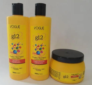 Other Home Care Vitamin G12 Maintenance Home Care Hair Fortifying Kit 3x500 - Vogue Fashion