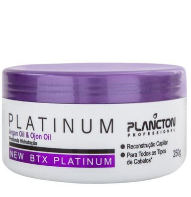 Plancton Professional Brazilian Keratin Treatment BTX Platinum Tinting Argan and Ojon Hair Mask Moist 250g - Plancton Professional