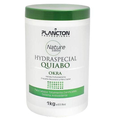 Plancton Professional Hair Mask Nature Special Hydration Okra Hair Treatment Mask 1Kg - Plancton Professional