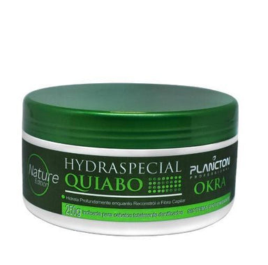 Plancton Professional Hair Mask Nature Special Hydration Okra Hair Treatment Mask 250g - Plancton Professional