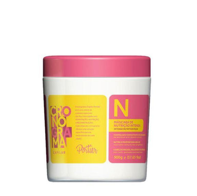 Portier Hair Mask Capillary Schedule Supreme Nourish Nutrition Softness Hair Mask 500g - Portier