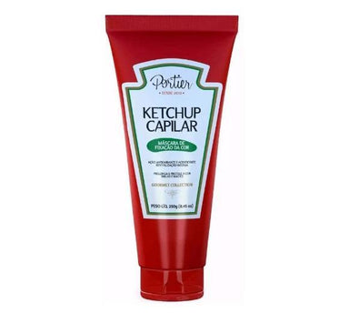 Portier Hair Mask Professional Hair Color Fixing Ketchup Mask Gourmet Collection 250g - Portier