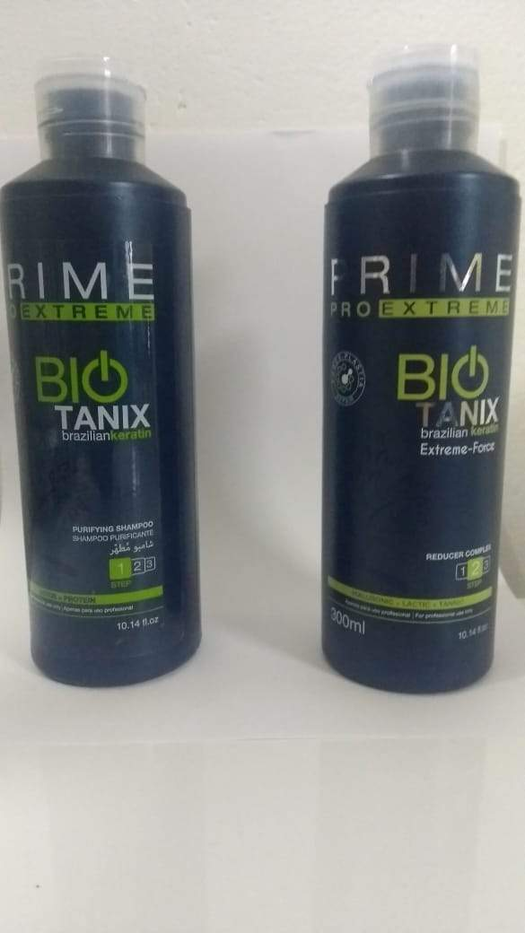 Prime Pro Extreme Brazilian Keratin Treatment Default Title Bio Tanix Extreme Hair Kit 2x300ml - Prime Pro