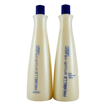 Professional Progressive Hair Brush Smooth Infusion Formol Free 2x1L - Probelle