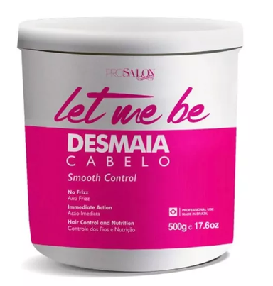 ProSalon Hair Mask Let Me Be Desmaia Cabelo Smooth Control Hair Mask 500g - ProSalon