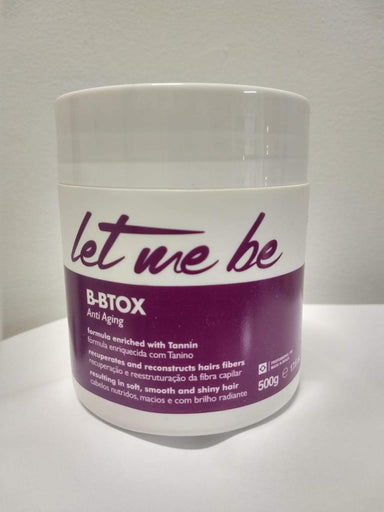 ProSalon Hair Mask Let me Be Tanino Bbtox Anti Aging Hair Treatment 500g - ProSalon