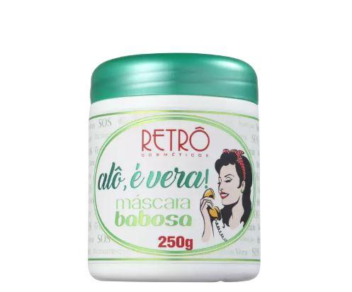 Retro Cosmetics Hair Mask Alô É Vera! Babosa Aloe Vera Dry Hair Reconstructio Mask 250g - Retro Cosmetics