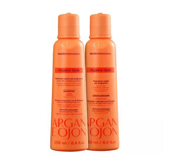 Home Care Treatment Argan Ojon and Smooth Effect Maintenance 2x250ml - Richée