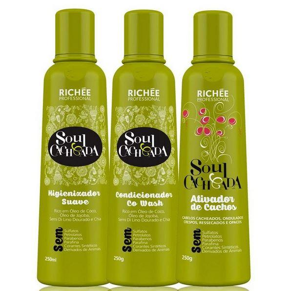 Maintenance Soul Curly Daily Home Care Hair Treatment Kit 3x250ml - Richée