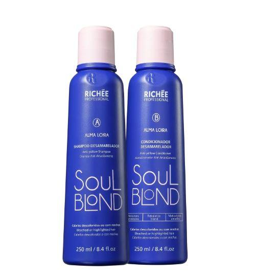 Soul Blond Maintenance Daily Use Home Care Hair Treatment Kit 2x250ml - Richée