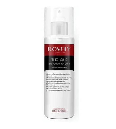 Rovely Brazilian Keratin Treatment The One 10 in 1 BB Cream Finisher Panthenol Lactic Acid Treatment 200ml - Rovely