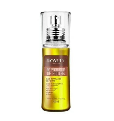Rovely Brazilian Keratin Treatment Tips Repairer Reconstruction Resistance Shine Protect Finisher Oil 45ml - Rovely
